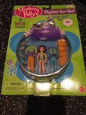 Polly Pocket  Snowflakes Lila Purse Dill Mattel Styles - To - Go New