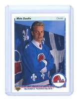 1990-91 upper deck #365 MATS SUNDIN quebec nordiques rookie card