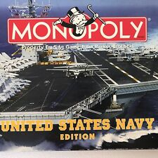 Monopoly United States Navy Edition 8 Custom Pewter Tokens 1998