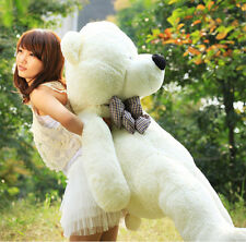 "Giant Teddy Bear Big Cute Beige Plush Huge Soft 100% Cotton Stuffed Toy 29.5"" LZ"