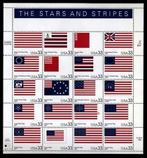US Scott 3403 Stars and Stripes Mint NH pane of 20