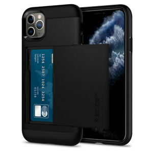 iPhone 11, 11 Pro, 11 Pro Max Case | Spigen® [Slim Armor CS] Card Wallet Cover