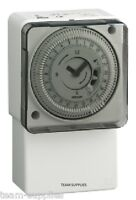 GRASSLIN IHTGPT01 Mechanical Immersion & General Purpose Timeswitch Timer 24 HR