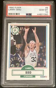 1990 Fleer Larry Bird #8 PSA 10