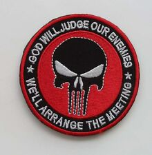 NEW THE PUNISHER SF / SEALS skull   Patch      SJK  100