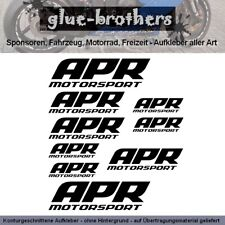 APR Motorsport Aufkleber Farbauswahl Decal Tuning Sport Racing Fahrzeugteile