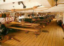 Picture Postcard; HMS Warrior's Main Deck, Cannons