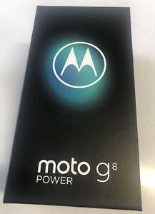 BRAND New Motorola Moto G8 Power Black 64GB 5000mAh Andriod 10 Unlocked - UK
