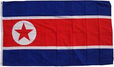 XXL Flagge Nordkorea 250x 150 cm mit 3 Metallösen Hissflagge Fahne Flag Sturm
