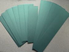 Strips of Stardream Emerald Green Pearl Card in 2 Sizes 217x57mm & 297x57mm NEW