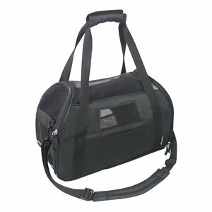 """Jespet Portable 19"""" Soft Sided Pet Carrier Cat Dog Small Animal Tote"""