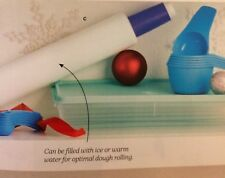 Tupperware NEW BAKER SET-rolling pin, measuring cups and spoons, and Rectangle