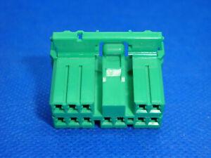 DEFENDER 10AS Alarm / Central Locking ECU GREEN 12-Way Connector & Terminals