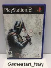 KNIGHT OF THE TEMPLE II 2 - SONY PS2 - GIOCO USATO PERFETTAMENTE FUNZIONANTE