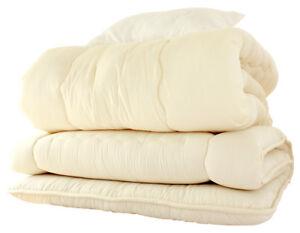 Japanese Traditional Bedding Set 3-PCS Futon Set Comforter Mattress Pilow JAPAN
