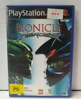 PS2 Bionicle Heroes Inc Manual