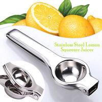 Lemon Lime Squeezer Stainless Steel Large Bowl Manual Citrus Juicer Press