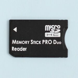 Micro SD SDHC to Memory Stick Pro Duo Memory Card Adapter
