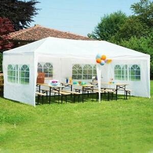 3X3/3x6/9M Garden Gazebo Marquee Party Tent Wedding Canopy Shade Outdoor 8 Sizes
