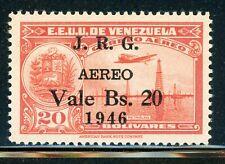 VENEZUELA MNH Selections: Scott #C227 20B/20B J.R.G. SCHG 1946 CV$28+