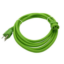 Green 10' POWER CORD ION BLOCK ROCKER AMP IPA03 IPA30 IPA30A IPA56S IPA57 IPA77
