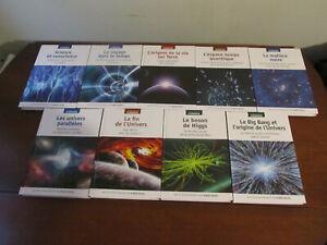 VOYAGE DANS LE COSMOS Une Collection Présentée par Hubert Reeves - 9 livres