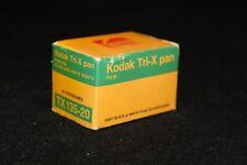 Vintage Kodak Tri-x pan Fast Black and White Film TX-135-20 Expired Dec 1980
