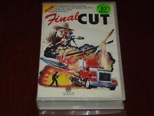 Final Cut VHS 1980s Thriller 7Keys Home Video PAL Texas