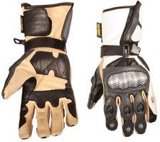 Pro Biker Racing Gloves Motorcycle Full Gauntlet Leather Motorbike Motocross