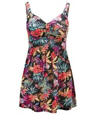 Joe Browns NWT UK size 12 multicoloured floral loose stretch vest top