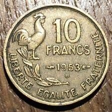 PIECE DE 10 FRANCS GUIRAUD 1953 B (430)
