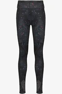 Sweaty Betty Star Print Mesh REVERSIBLE Yoga leggings - XS Full Length + BAG