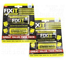JML Fix-IT Multi-Purpose Super Bonding Adhesive DIY Putty/Glue/Filler x 4 TUBES*