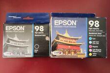 2021-2022 GENUINE Epson 98 Ink T098120BCS T0981-T0983-T0986 ARTISAN 700 710 725