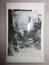 1950/60's era Schoharie, NY postcard Coach Buggy made in Schoharie RPPC