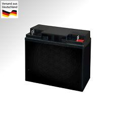 Starter Battery for Riding Lawn Mower Mastercut 92-155 Lead Vlies AGM 12V Gel