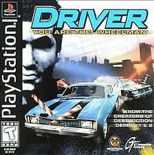 Driver You Are The Wheel Man (Sony PlayStation)ps2 ps3undercover NYPD Miami Rare