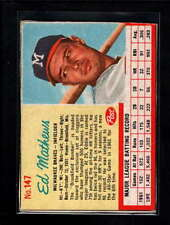 1962 POST CEREAL #147 ED MATHEWS VG-EX D9955