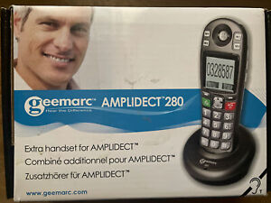 Geemarc Amplidect 280 Téléphone Fixe combiné Seniors