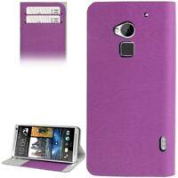 Handy Hülle Telefonhülle Kratzschutz Flip Quer Tasche für HTC One Max / T6 TOP
