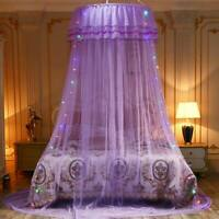 Solid Mosquito Net Princess Girl Canopy Bed Lace Mesh Hanging Net Bed Curtains