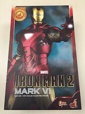 Hot Toys MMS 339 Iron Man 2 Mark VI vi 6 Tony Stark 12 inch Action Figure NEW