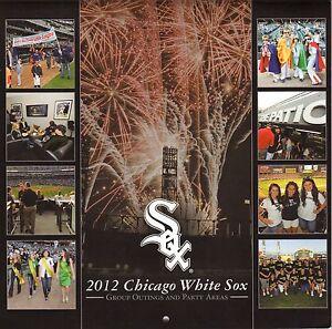 Chicago White Sox--2012 Calendar/Schedule--Palmer House