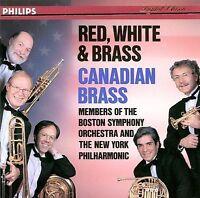 Red, White & Brass - Canadian Brass - Music CD - Canadian Brass -  1991-10-11 -