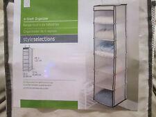 New 6 Shelf Closet Organizer by Styleselections