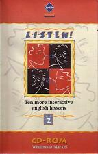 Eurotalk - LISTEN Ten More Interactive English Lessons Disc 2 - PC & MAC - MD11