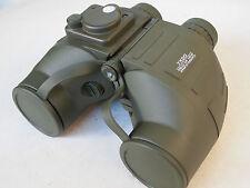 Militär Marine Fernglas 7x50 mit beleuchtetem Kompass + Strichplatte binoculars
