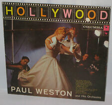 Paul Weston and His Orchestra-Hollywood Columbia CL1112 VG+/VG+