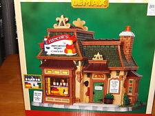 LEMAX, FRENCHIE'S IMPORTED WINE & CHEESE, LIGHTED BUILDING, NIB, 2013