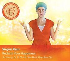 Reclaim Your Happiness: Meditations for Transform - Music CD - Sirgun Kaur -  20